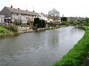 Houses on the canal at Barnoldswick