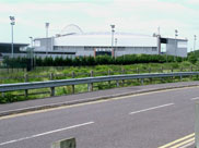 The JJB Stadium, home to Wigan Athletic and the Wigan Warriors