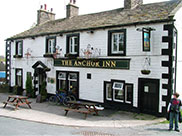 Leaving The Anchor Inn at Salterforth