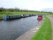 Approaching Barrowford, lots of moored boats