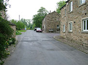 West Street, Gargrave, the start of our walk
