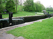 Bank Newton lock (No.38)