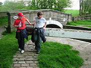 Thomas and Connor opening lock gates (No.40)