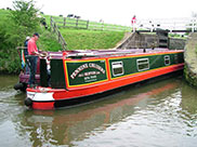 Steady on, 2 boats entering Top lock (No.41)