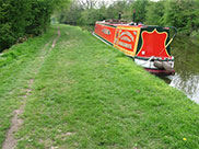 'Kashmir' moored at Swillber Hill