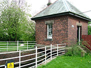 Old pumping house, dated 17th August 1893