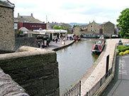The centre of Skipton