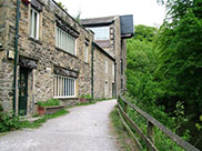 Old mill building at Skipton