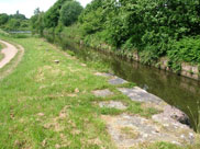 Site of old locks approaching Crooke