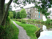 Old stone mill at Silsden