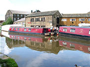 Silsden Boats, a place for repairs or to re-fuel