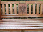 A bench in the memory of Jozef from Josephine