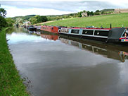 Boats moored at Snaygill