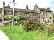 Old canalside housing at Saltaire