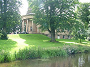 A wedding taking place at Saltaire