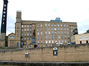 Damart clothing factory in Bingley