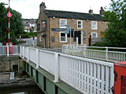 The Marquis of Granby pub at Granby swing bridge