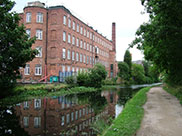 Old canalside industry at Leeds