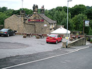 The Abbey Inn at Newlay, time for lunch