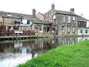 The Rodley Barge canalside pub