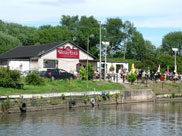 The Waters Edge pub and restaurant at Appley Bridge
