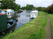 Lots of moored boats