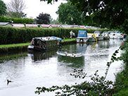 Moorings and holiday park