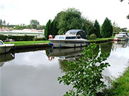Static caravan park and moorings