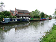 Boats moored at Pinfold