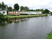 Static caravans at Scarisbrick