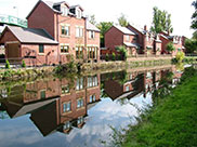 New canalside property in Maghull