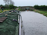Approaching locks on the Rufford branch