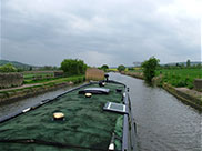 Cloudy as we head towards Parbold