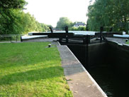 Lock 65 (1) of the Wigan Flight