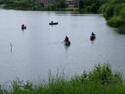 Canoeists on Scotman's Flash