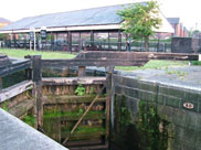 Lock 87 at Wigan dry dock