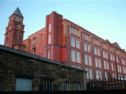 Trencherfield Mill undergoing restoration