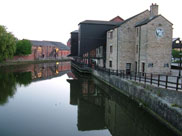 Our destination, the famous Wigan Pier