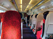 Inside the impressive Virgin train