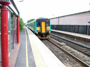 Second train drops us off at Adlington