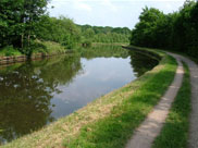The canal close to Haigh Hall