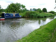 A little 'Rascal' moored at Parbold