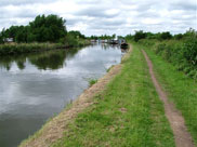 Lots more barges moored at Hoscar