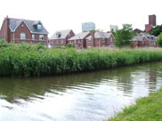 New housing estate at Burscough