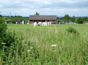 A cricket match at Burscough