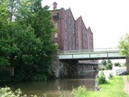 Old factory at Burscough