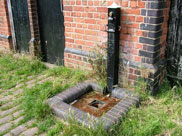 An old water pump close to Burscough bridge