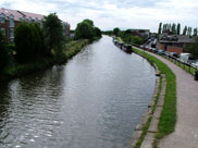 End of our journey, view from Burscough Bridge