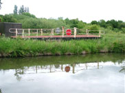 A swing bridge (scrap)