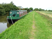 Sign of life, a couple of narrow boats